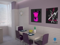 Kitchen BluCACTUS design